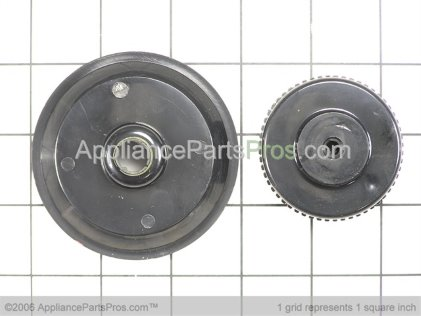 Whirlpool Knob and Skirt Assembly 12500058 from AppliancePartsPros.com