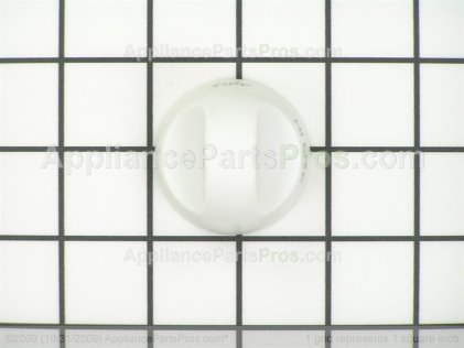 Whirlpool Knob, Burner (wht) 74007280 from AppliancePartsPros.com