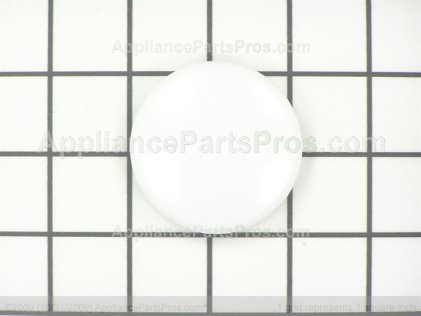Whirlpool Knob, Cap (wht) 27001087 from AppliancePartsPros.com