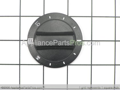 Whirlpool Knob, Control (black) 3183120 from AppliancePartsPros.com
