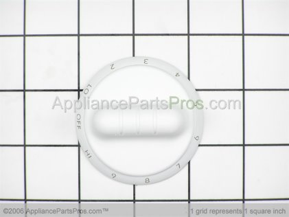 Whirlpool Knob Control Wh 307624W from AppliancePartsPros.com