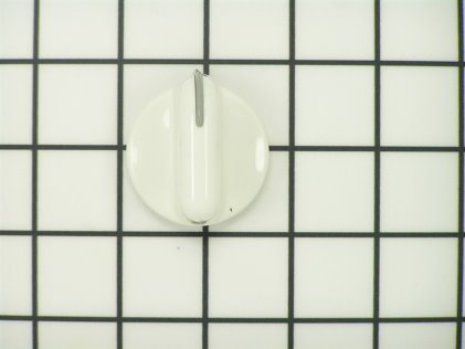 Whirlpool Knob, Control (white) 3949700 from AppliancePartsPros.com
