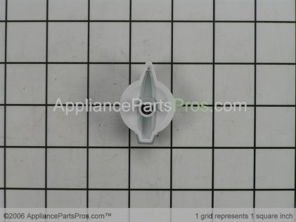 Whirlpool Knob, Control (white) 8544935 from AppliancePartsPros.com