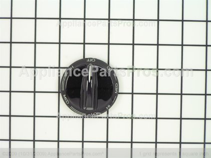 Whirlpool Knob, Dual Infinite(black) 31926603B from AppliancePartsPros.com