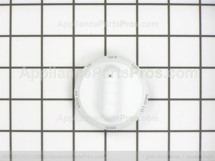 Whirlpool Knob, Infinite Switch ( W 309870W from AppliancePartsPros.com