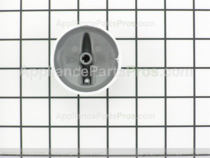 Whirlpool Knob, Infinite (wht) 74008232 from AppliancePartsPros.com