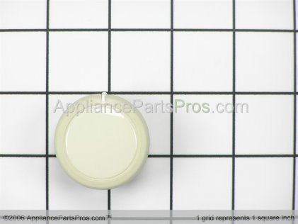 Whirlpool Knob, Push-to-Start (biscuit) 3957797 from AppliancePartsPros.com