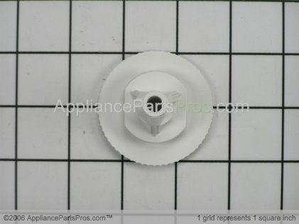 Whirlpool Knob, Rinse Aid (wht) Y912923 from AppliancePartsPros.com