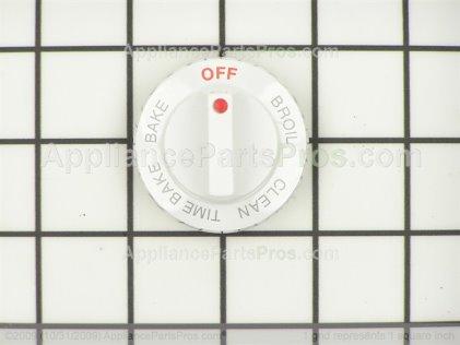 Whirlpool Knob, Selector (designer White) 4371676 from AppliancePartsPros.com