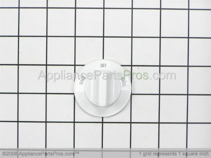 Whirlpool Knob, Selector (wht) 7739P048-60 from AppliancePartsPros.com