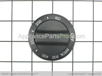 Whirlpool Knob, Thermostat (black Model) 3183106 from AppliancePartsPros.com