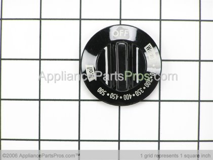Whirlpool Knob Thermostat Black 74003296 from AppliancePartsPros.com
