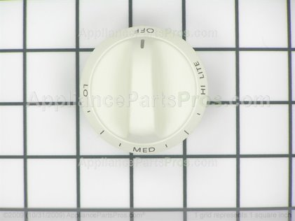 Whirlpool Knob, Top Burner(bisque) 31905431C from AppliancePartsPros.com