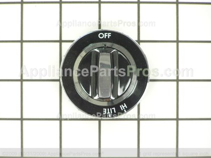 Whirlpool Knob, Top Burner Y0063180 from AppliancePartsPros.com