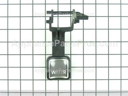 Whirlpool Lever, Water Dispenser (black) 2259395SB from AppliancePartsPros.com