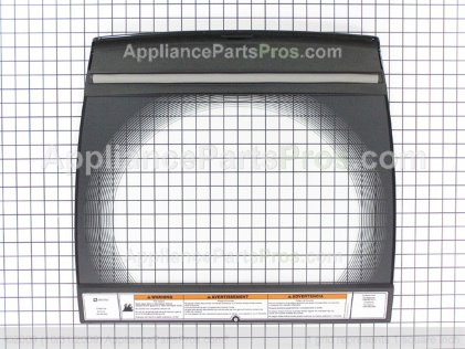 Whirlpool Lid Black W10183522 from AppliancePartsPros.com