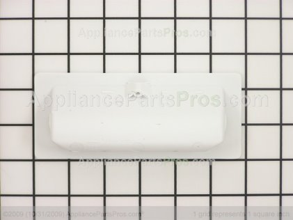 Whirlpool Lid Handle (white) 379889 from AppliancePartsPros.com