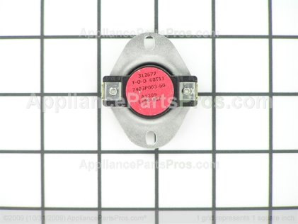 Whirlpool Limit Switch 7403P063-60 from AppliancePartsPros.com