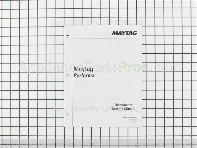 Whirlpool 16010622 Manual Service Maytag Perform