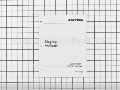 Whirlpool Manual, Service Maytag Perform 16010622 from AppliancePartsPros.com
