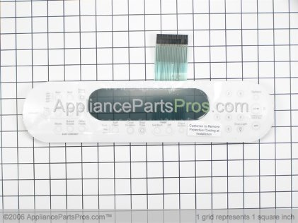 Whirlpool Membrane Switch (white) 9756559WH from AppliancePartsPros.com