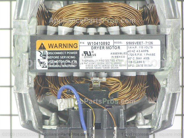 Whirlpool w10410999 motor drve appliancepartspros whirlpool motor drve w10410999 from appliancepartspros asfbconference2016 Choice Image