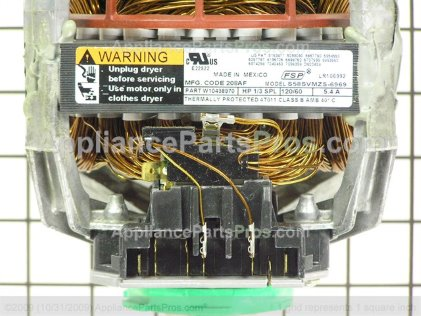 Whirlpool Motor-Drve W10438970 from AppliancePartsPros.com