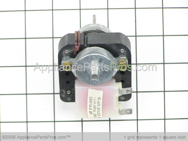 Whirlpool wpc8891605 motor evaporator fan for Evaporator fan motor troubleshooting