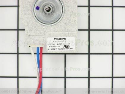 Whirlpool Motor-Evap W10257096 from AppliancePartsPros.com