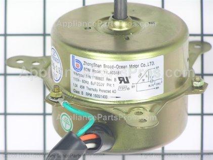 Whirlpool Motor-Fan 1188922 from AppliancePartsPros.com