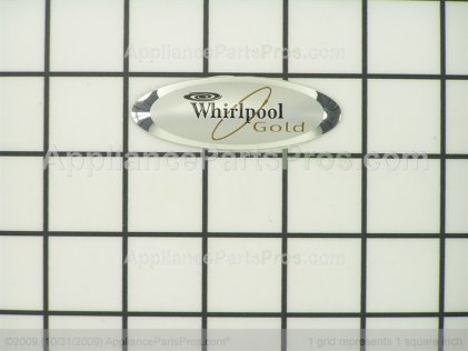 Whirlpool Nameplate 8523552 from AppliancePartsPros.com