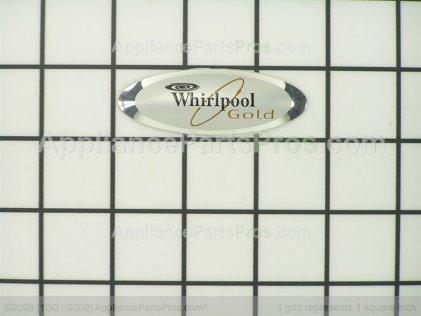 Whirlpool Nameplate 8523552 from AppliancePartsPros.com