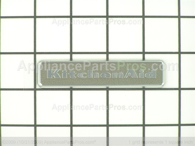 kitchenaid nameplate. Whirlpool Nameplate WPW10243391 From AppliancePartsPros.com Kitchenaid