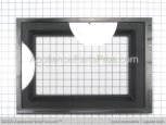 Outer Microwave Door Assembly, Black