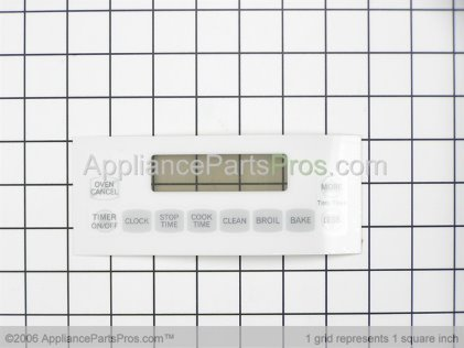 Whirlpool Overlay, Mylar (wht) 32061903W from AppliancePartsPros.com