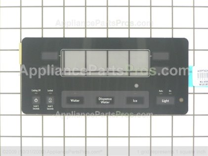 Whirlpool Overlay W10180050 from AppliancePartsPros.com