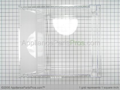Whirlpool Pan, Crisper 61006110 from AppliancePartsPros.com