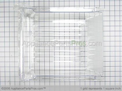 Whirlpool Pan, Crisper 67002569 from AppliancePartsPros.com