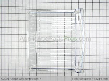 Whirlpool Pan, Sm Crisper 67001505 from AppliancePartsPros.com