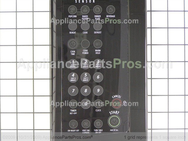 Whirlpool 8205376 Panel Asy Control Includes Lens And