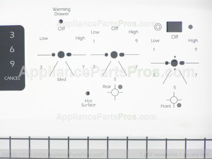 Whirlpool Panel-Bkgd 5701M628-60 from AppliancePartsPros.com