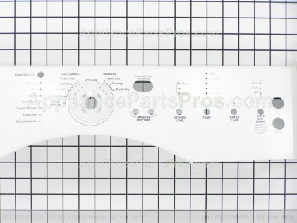 Whirlpool Panel-Cntl W10098950 from AppliancePartsPros.com