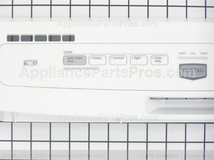 Whirlpool Panel-Cntl W10199785 from AppliancePartsPros.com