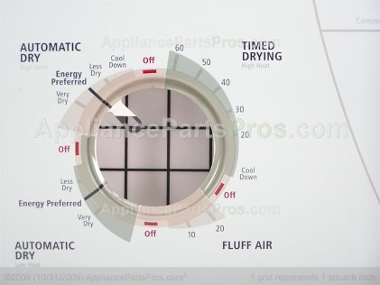 Whirlpool Panel, Control (biscuit) 8545970 from AppliancePartsPros.com