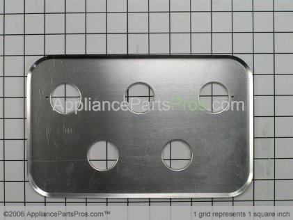 Whirlpool Panel, Control (wht) 74002117 from AppliancePartsPros.com