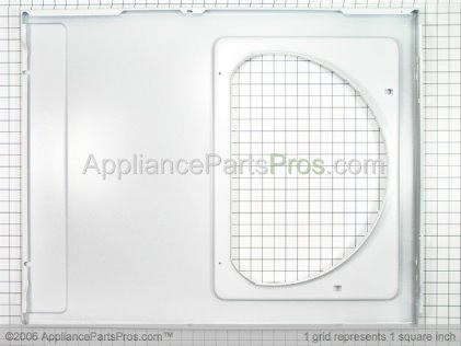 Whirlpool Panel, Front (wht) 31001771 from AppliancePartsPros.com