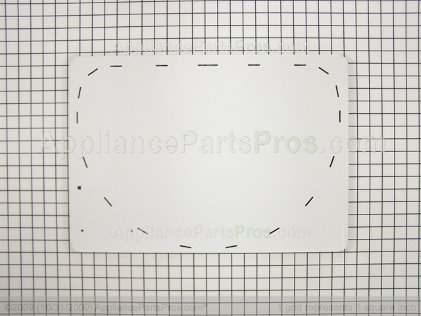 Whirlpool Panel, Inner Door (wht) 53-0912 from AppliancePartsPros.com