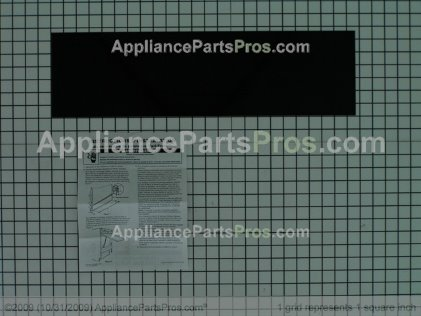 Whirlpool Panel Insert Kits (optional Kits) (almond/black) 4171534 from AppliancePartsPros.com