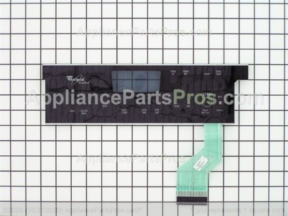 Whirlpool Panl-Cntrl W10122295 from AppliancePartsPros.com