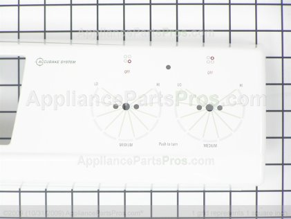 Whirlpool Panl-Cntrl W10122296 from AppliancePartsPros.com
